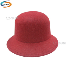 Women lady classic winter hat Wool Felt cheap cloche hat