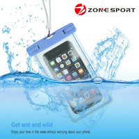 Hot sell new products durable eco-friendly 100% seal PVC mobile phone waterproof dry bag