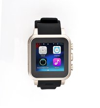 High quality Cell Phone Watch Dual Core WIFI Fashion Watch SIM Card 3G Smart Watch Phone MT6572