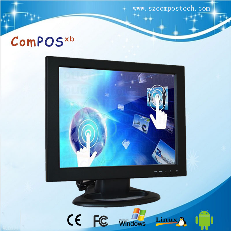 "15"" Touch <strong>Screen</strong> Monitor for Touch POS Machine with cheap touch monitor"