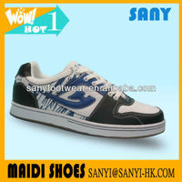2013 Latest Product--Fashionable Men Lace Street skate Shoes with Flat Sole