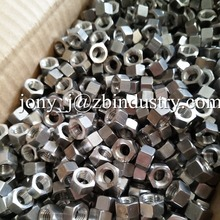 Alloy 601 INCONEL601 / 2.4851 / UNS N06601 HEX NUTS.