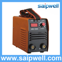 Saipwell high efficiency inverter tig mig mma riland welding machine (ARC-160G)