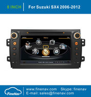 "8"" Capacitive Car DVD Player For SUZUKI SX4 With GPS Navigation A8 Chipset Dual Core 3G Wifi BT Radio Free Map"