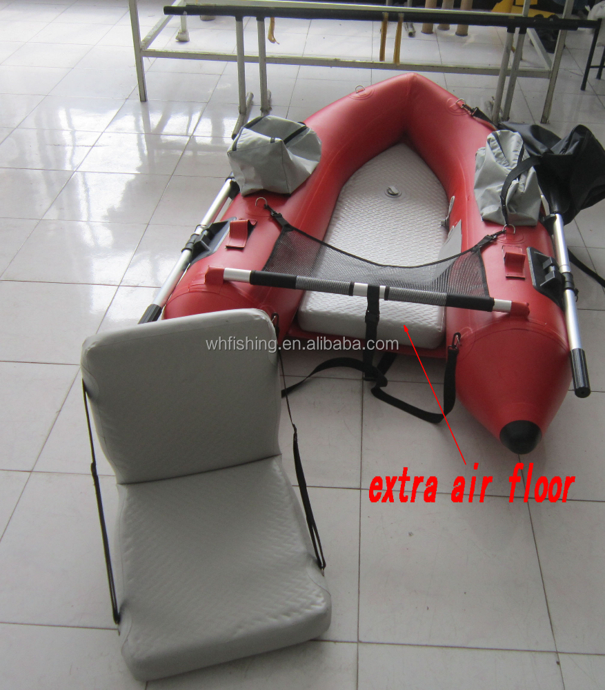 Inflatable float tube small fishing pontoon boat individual fishing tube