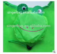 Multifunctional cheap nylon foldable shopping bag animal with CE certificate