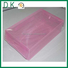 plastic shoes box for nike football shoes
