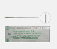 Tattoo supplies professional sterilized needle tattoo for permanent makeup