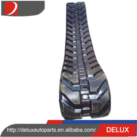 Trustworthy china supplier snowmobile rubber tracks