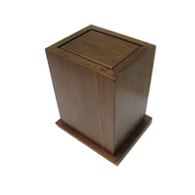 Chinese antique wooden funeral urn