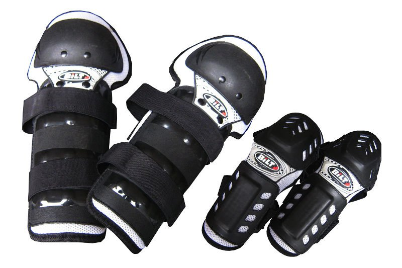Motorcycle Offroad Accessories racing Rider Protective Gears 2 Knee + 2 Elbow Guards Pad
