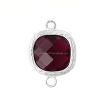 Birthstone Rhinestone Connector Link Charm Wholesale Jewelery Finding