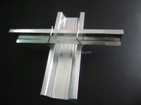 False ceiling light drywall metal channel steel profile