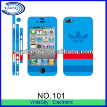 Promotion Colorful Patterns Full Body Screen protector for Samsung S4, Nokia, HTC etc