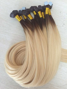 Tape Hair Extensions 100% Russian Hair Best Quality Double Drawn