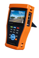 Pretty good function AHD/CVBS/IP cctv tester with HDMI output UTP cable tester