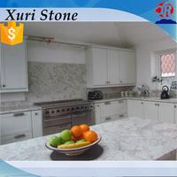 prefab white andromeda granite countertop made in China