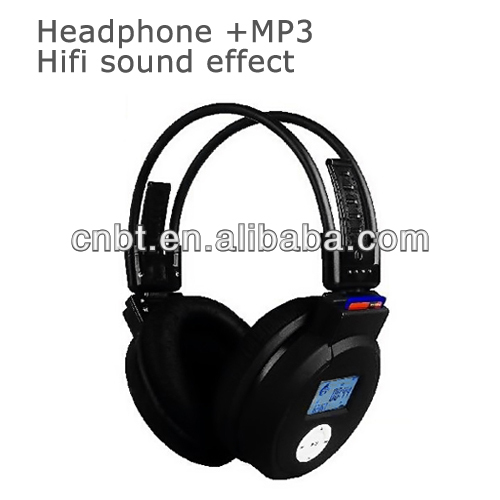 New Water Resistant Stereo Neckband Headset Headphone Sports MP3 Player With 2GB Memory