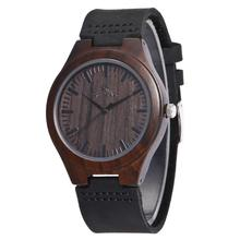 2017 Newest Design Wood Watch Japan Movt Men Watches