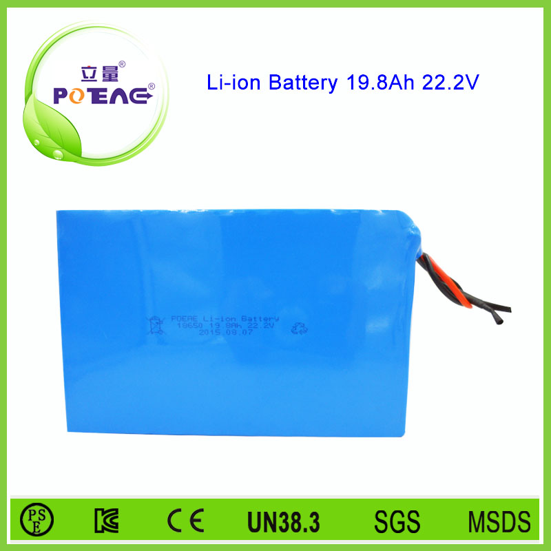 18650 li-ion type 24V 20ah lithium battery pack