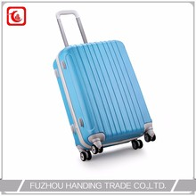 Sky Blue Travel Trolley Luggage Bag , Traditional Brand Name Suitcase