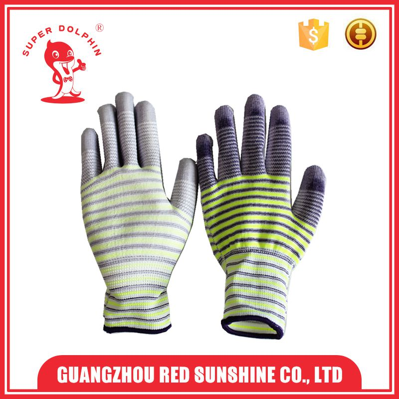 Manufacturer factory price Light Colored Garden working hand gloves