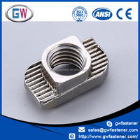 China Manufacturers 304 316 Stainless Steel T Nuts