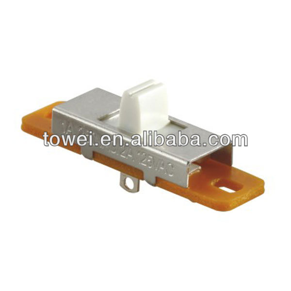 Popular stylish 1p2t smd momentary slide switch