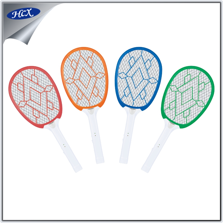HCX-787-2100L Indoor mosquito killer bat rechargeable bug zapper sealed lead-acid battery electric swatter