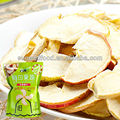 Low-fat vacuum fried apple chips