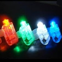 colorful night activity ring finger led light