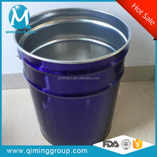 Metal Tin Buckets Pails Decorative In Volume 5 Gallon Or 20L