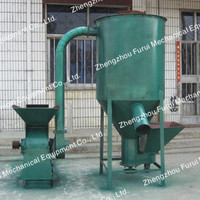 hot sale good design horizontal feed mixer/automatic mixing machine animal feed