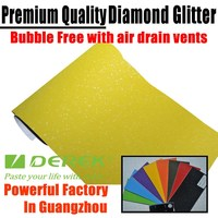 Bubble free Car glitter film,gitter vinyl,glitter car wrap 1.52*30m