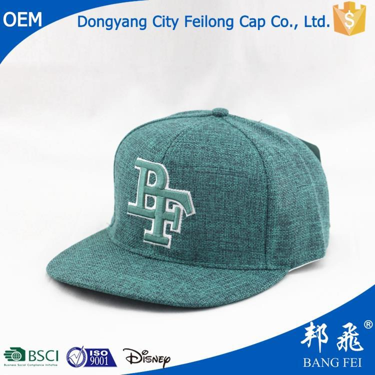 plastic screw baseball cap with applique embroidery flat hat factory plain snapback hats wholesale blank snapback hats