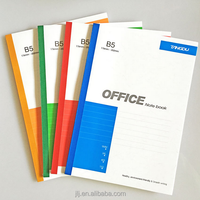 Office Supplies Soft Cover B5 Notebook