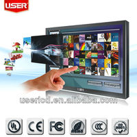 Touch Screen monitor,advertising displays with Wifi, 3G/ Advertising player/ Adervertising monitor