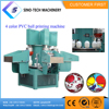 Economical plastic pu Inflatable ball printing machine small scale