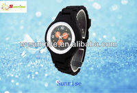 Best cheap waterpoof silicone sport watch with Japan movt
