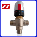 "China factory manufacturer Brass 1/2"" solar heater thermostatic valve"