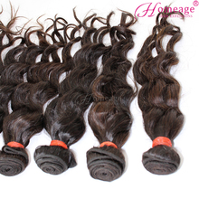 homeage aliexpress wholesale 6a wavy bundle extra virgin brazilian hair 3 bundles