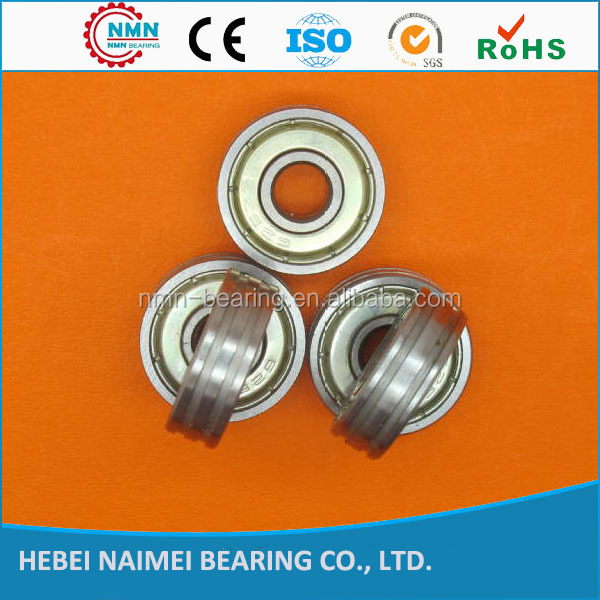 High Performance 608 2Z Bearing with one or two groove