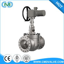 Top Entry Soft Seat PTFE Electric Operated 8 inch 150LB Ball valve with Inside Drawing