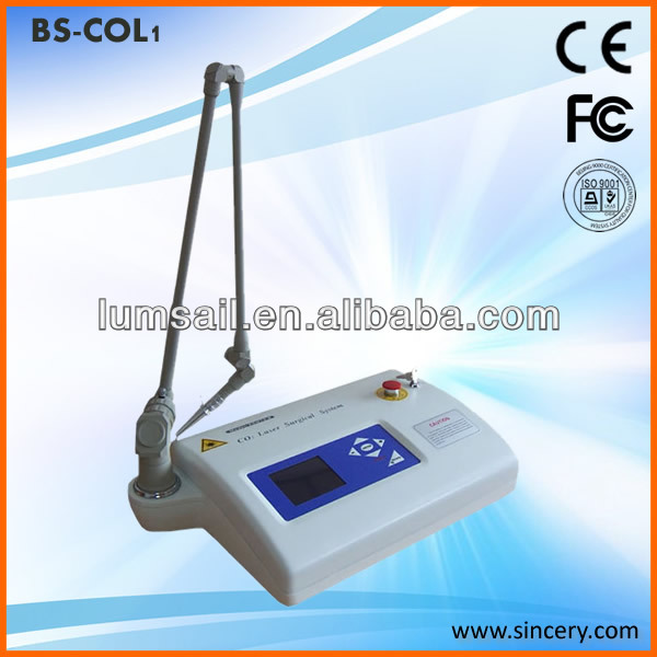Clinical medical Scar removal 15w laser home use co2 fractional laser