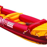 Pvc Inflatable Double Fishing Kayak With