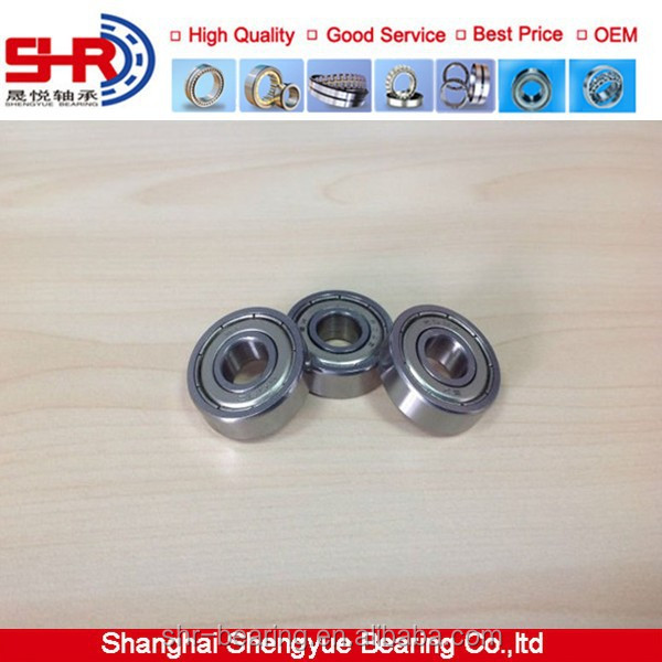High Speed Miniature ball bearing small electric motor bearings