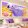 Diamond embroidery peacock cross stitch living room landscape 5D diamond Painting