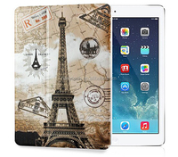 new colorful painting flip leather case for iPad 2/3/4/5