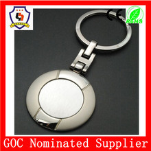 round metal keychain with any logo : car logo/company brand/ any words for business gift and promotional gift(HH-key chain-752)
