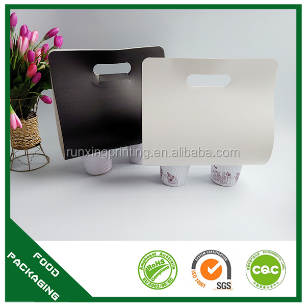 take out corrugated bottle wine box carrier